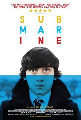 Submarine - 11 x 17 Movie Poster - Danish Style A