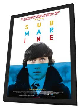 Submarine - 27 x 40 Movie Poster - Style A - in Deluxe Wood Frame