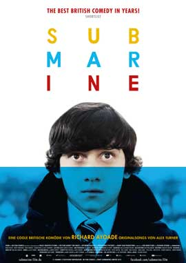 Submarine - 43 x 62 Movie Poster - German Style A