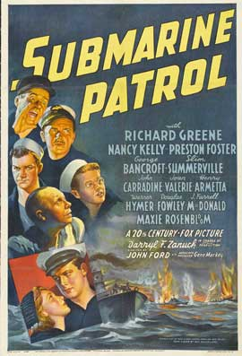Submarine Patrol - 11 x 17 Movie Poster - Style A
