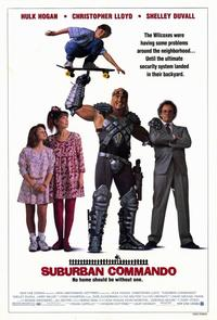 Suburban Commando - 11 x 17 Movie Poster - Style B