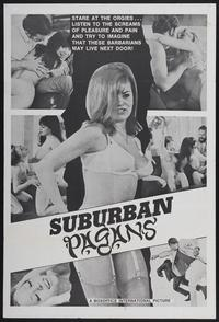 Suburban Pagans - 11 x 17 Movie Poster - Style A