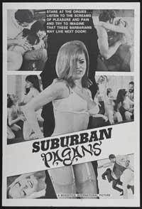 Suburban Pagans - 43 x 62 Movie Poster - Bus Shelter Style A