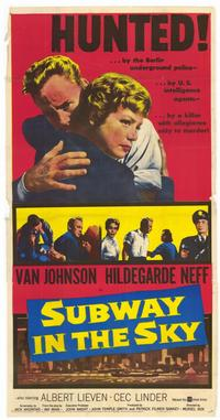 Subway in the Sky - 11 x 17 Movie Poster - Style A