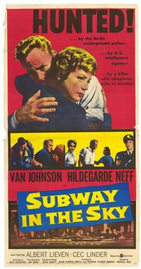Subway in the Sky - 27 x 40 Movie Poster - Style A