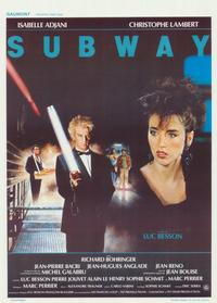 Subway - 11 x 17 Movie Poster - Belgian Style A