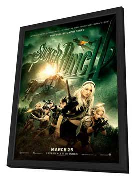 Sucker Punch - 11 x 17 Movie Poster - Style H - in Deluxe Wood Frame