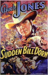 Sudden Bill Dorn - 11 x 17 Movie Poster - Style B