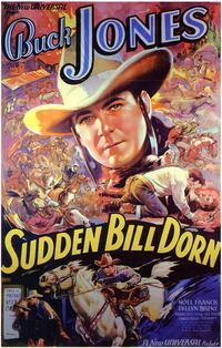 Sudden Bill Dorn - 27 x 40 Movie Poster - Style B