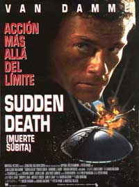Sudden Death - 27 x 40 Movie Poster - Spanish Style A