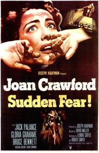 Sudden Fear - 43 x 62 Movie Poster - Bus Shelter Style A
