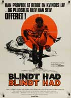 Sudden Fury - 11 x 17 Movie Poster - Danish Style A