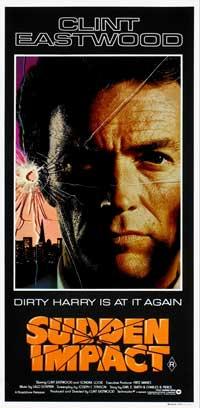 Sudden Impact - 13 x 30 Movie Poster - Australian Style B