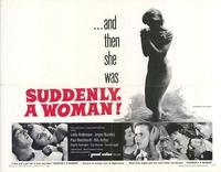 Suddenly a Woman - 11 x 14 Movie Poster - Style A