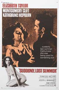 Suddenly, Last Summer - 11 x 17 Movie Poster - Style C