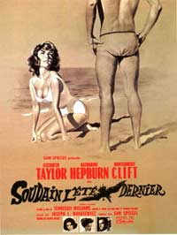 Suddenly, Last Summer - 11 x 17 Movie Poster - French Style A