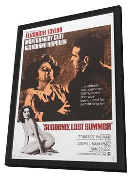 Suddenly, Last Summer - 11 x 17 Movie Poster - Style C - in Deluxe Wood Frame