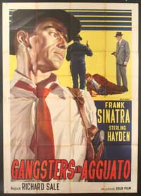 Suddenly - 27 x 40 Movie Poster - Italian Style A