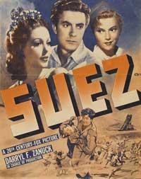Suez - 11 x 17 Movie Poster - Style B