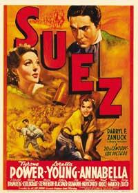 Suez - 11 x 17 Movie Poster - Style C