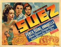 Suez - 11 x 14 Movie Poster - Style B