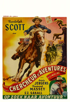 Sugarfoot - 11 x 17 Movie Poster - Belgian Style A