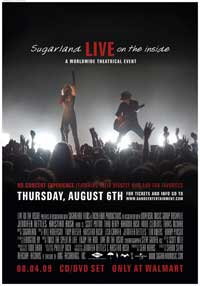 Sugarland: Live on the Inside - 27 x 40 Movie Poster - Style A