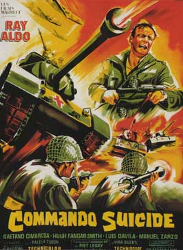 Suicide Commandos - 11 x 17 Movie Poster - French Style A