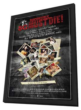 Suicide Girls Must Die! - 11 x 17 Movie Poster - Style A - in Deluxe Wood Frame