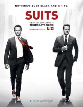 Suits (TV) - 11 x 17 TV Poster - Style A