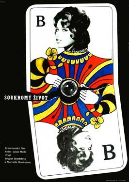 Sukromne Zivoty - 11 x 17 Movie Poster - Czchecoslovakian Style A