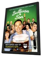 Sullivan and Son (TV) - 11 x 17 TV Poster - Style A - in Deluxe Wood Frame