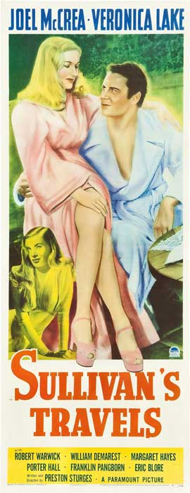 Sullivan's Travels - 14 x 36 Movie Poster - Insert Style B