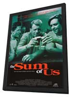 The Sum of Us - 11 x 17 Movie Poster - Style C - in Deluxe Wood Frame