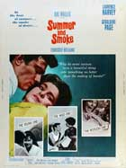 Summer and Smoke - 27 x 40 Movie Poster - Style B