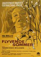 Summer and Smoke - 11 x 17 Movie Poster - Danish Style A