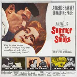 Summer and Smoke - 30 x 30 Movie Poster - Style A