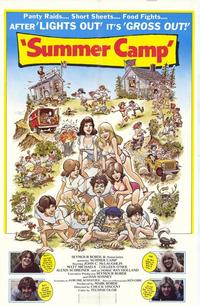 Summer Camp - 43 x 62 Movie Poster - Bus Shelter Style A