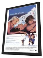 Summer Lovers - 27 x 40 Movie Poster - Style A - in Deluxe Wood Frame