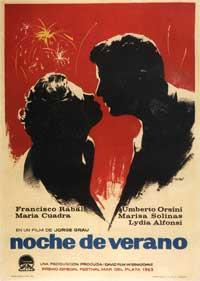 Summer Night - 11 x 17 Movie Poster - Spanish Style A