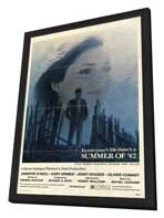 Summer of '42 - 27 x 40 Movie Poster - Style A - in Deluxe Wood Frame