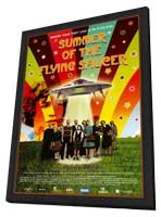 Summer of the Flying Saucer - 11 x 17 Movie Poster - Swedish Style B - in Deluxe Wood Frame