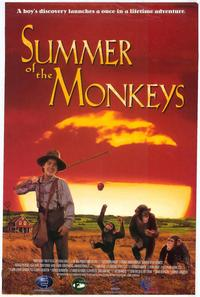 Summer of the Monkeys - 27 x 40 Movie Poster - Style A