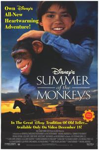 Summer of the Monkeys - 27 x 40 Movie Poster - Style B