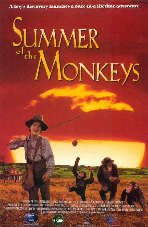 Summer Of The Monkeys Movie Posters From Movie Poster Shop
