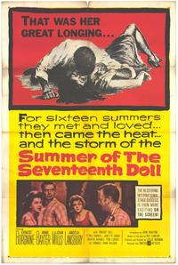 Summer of the Seventeenth Doll - 27 x 40 Movie Poster - Style A