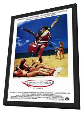 Summer Rental - 11 x 17 Movie Poster - Style A - in Deluxe Wood Frame