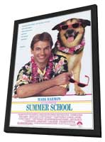 Summer School - 11 x 17 Movie Poster - Style A - in Deluxe Wood Frame