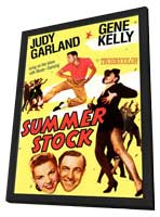 Summer Stock - 11 x 17 Movie Poster - Style C - in Deluxe Wood Frame