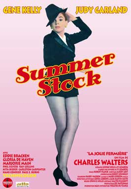 Summer Stock - 11 x 17 Movie Poster - French Style A